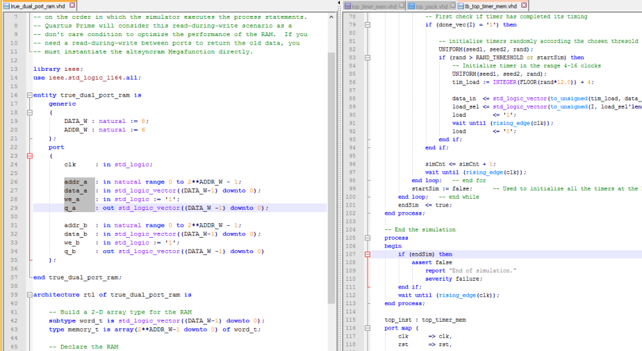 VHDL editors – Notepad++ – FPGA Site